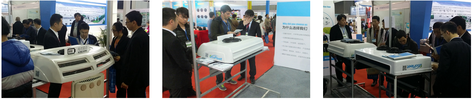 EcoFleet Sleeper Cab Air Conditioner And Refrigeration System At 2015 AAC China